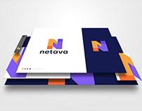 Netava Logo Design