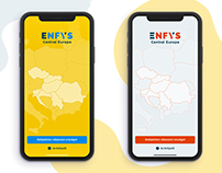 Enfys Restaurant Guide iOS App