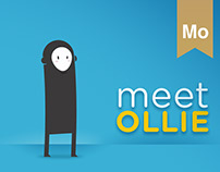 MEET OLLIE - Character Design & Interactive Animation
