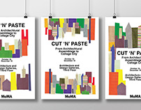 MoMA Cut 'N' Paste Exhibition Posters