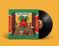 Awkwafina Vinyl Design