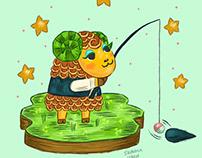Timbra Animal Crossing Fan Art