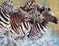 African Wildlife Paintings