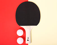 T&H ping pong rackets