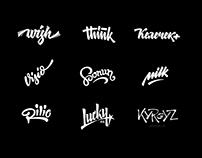 lettering logos  2015-16