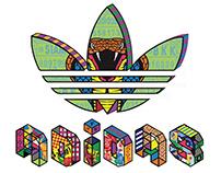 ADIDAS Trefoil logo design [ADIDASxBEERPITCH]