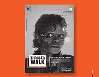 Thriller Walk event branding