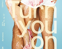 """Turn you on"" OFFF Barcelona 2014 · Posters"