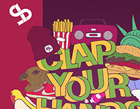 Clap Your Hands Say Yeah // Poster