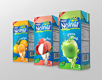 NESFRUTA packaging layout