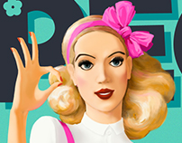 Peggy Sue Illustration