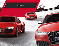 iPad App Project for Audi