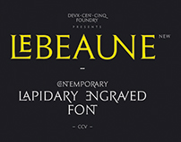 Le Beaune New - Free Font