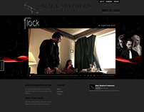 Web Design - Black Shepherd Productions (2011)