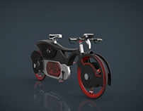 Black Widow Bicycle Prototype