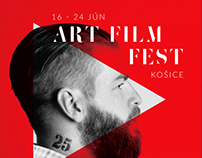 Art Film Fest - Art direction, Print
