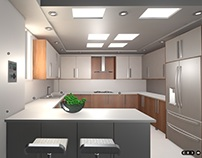 Web Based 3D- Kitchen Interior