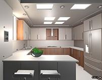 Web Based 3D- Kitchen Interior