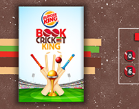 Burger king book cricket web pages