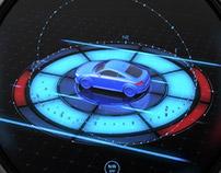 Automobile Centre Console - Conceptual