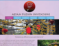 Azian Fuzian Invitations