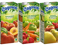 "juice packaging ""Садочок"""