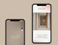 RAON Women's Clinic-Website Design