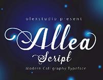 Allea Script Typeface