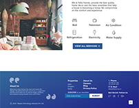 Fella Homes - Landing page