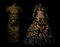 Virtual Qipao & Victorian dress (MD)