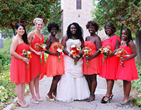 Sarah's wedding - bridesmaid dresses