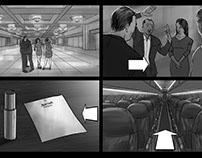 Marriott Marquis Storyboards