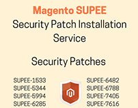 Magento SUPEE Security Patches Installation Service