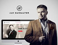 Jan Smigmator web redesign