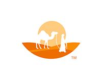 Desert logo design