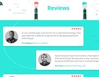 Rating & Reviews Screen Design