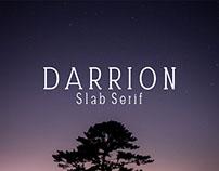 Darrion - Free Slab Serif Demo Font
