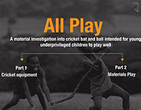 All Play - a material investigation