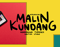 Malin Kundang - FREE DISPLAY FONT