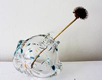 Aquatic Vases-Blown Glass Vases