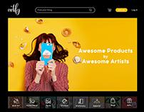 E-Commerce Website | Artify