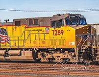 Roseville Rail Yard Thursday Afternoon