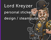 Stickers design for Y.Lomakin