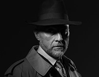 Лэндинг частного детектива