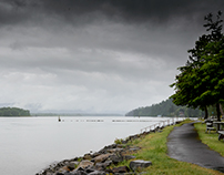 Columbia River  - Photo taken from Washington State