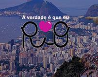 Conceito da marca: AMO RiO