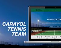 Carayol Tennis Team