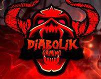 Mascot logo for DiaboliK Gaming