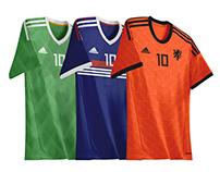 Adidas Retro World Cup Jerseys Recreated