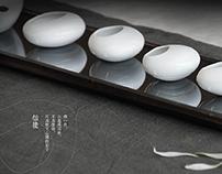 Ripple -- Ceramic Tea set Design